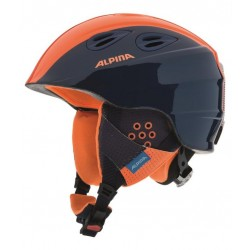 KASK ALPINA JUNIOR GRAP 2.0 NAVY ORANGE rozm. 54-57