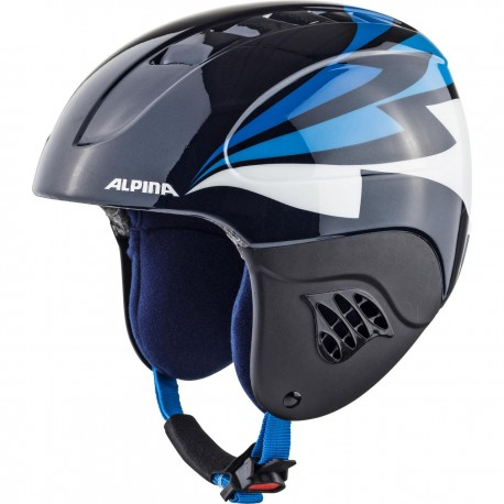 KASK ALPINA JUNIOR CARAT HAPPY PINGUIN rozm. 51-55